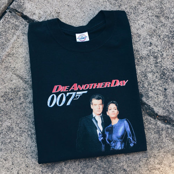 "Original 2002 James Bond ""Die Another Day"" Movie Promo Tee."