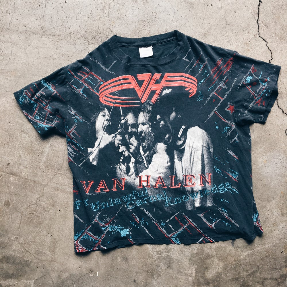 Original 1991 Made In USA Van Halen Tee.