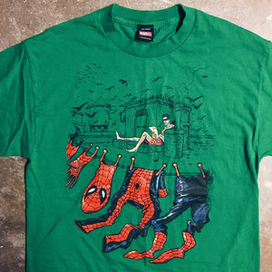Original 2000's Marvel Mad Engine Spider-Man Tee.