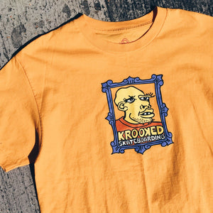 "Krooked Gonz ""Frame Face"" Tee."