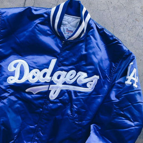 Original Early 90's Starter Los Angeles Dodgers Satin Jacket.