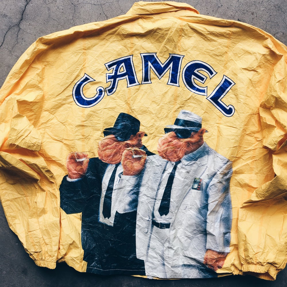 Original 1992 Tyvek Camel Jacket.