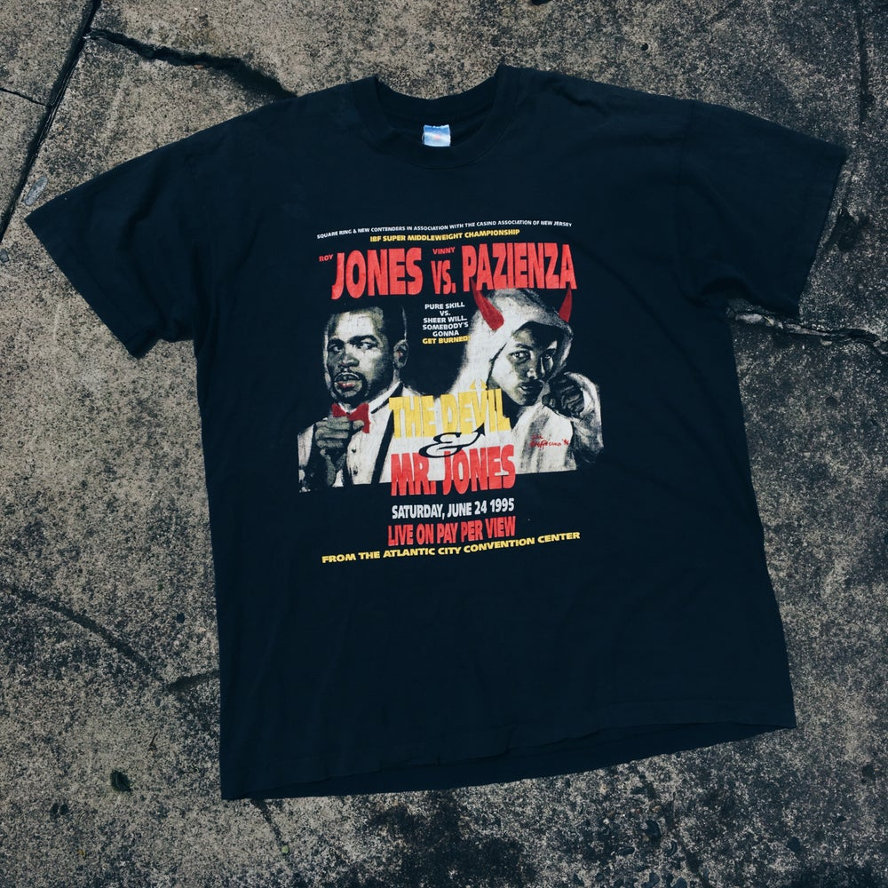 Original 1995 Roy Jones Boxing Tee.