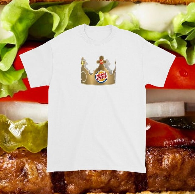 "2020 Menu Items ""Crown"" Tee."
