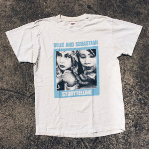 Original 2002 Belle And Sebastian Storytelling Tee.