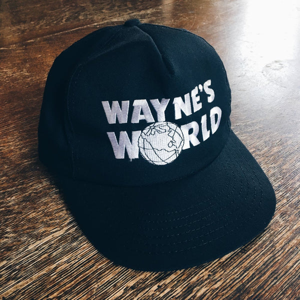 Original 1991 Wayne's World SNL Snapback Hat.