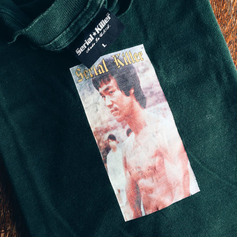 Original 90's Serial Killer Bruce Lee Tee.