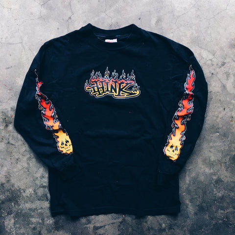 Original 90's Think Skateboards L/S Tee.