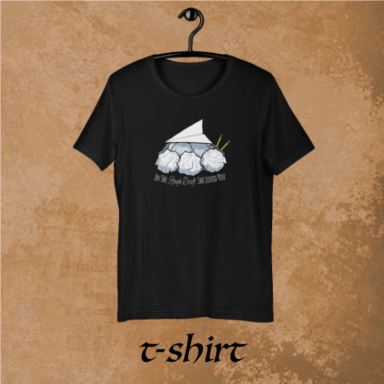 In The Rough Draft t-shirt (International)