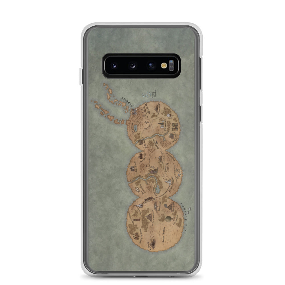 Bug Scouts Map Samsung Case