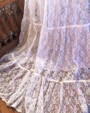 Load image into Gallery viewer, Authentic 1970's vintage white lace Gunne Sax bridal maxi dress