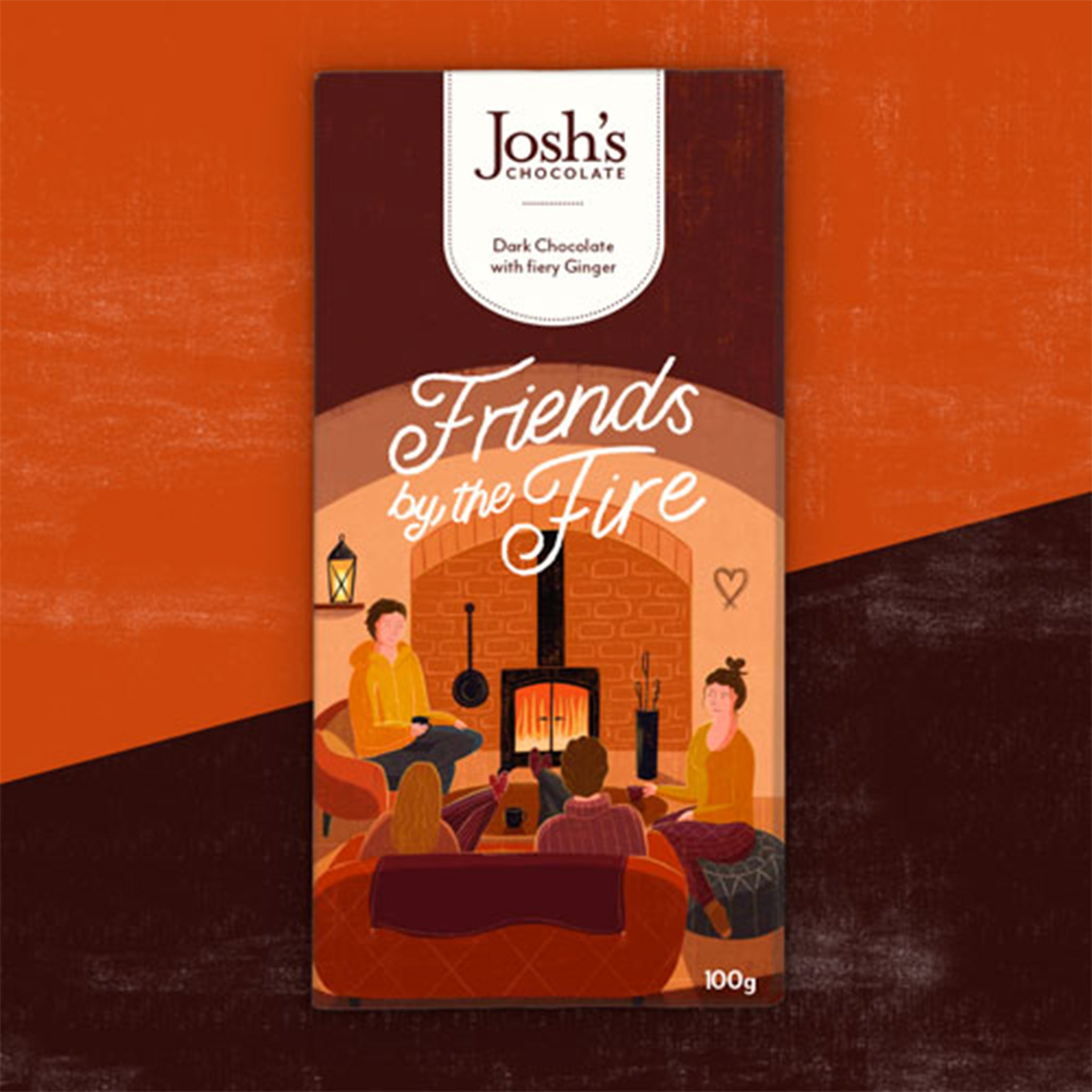 Josh's Chocolate 'Friends By The Fire'