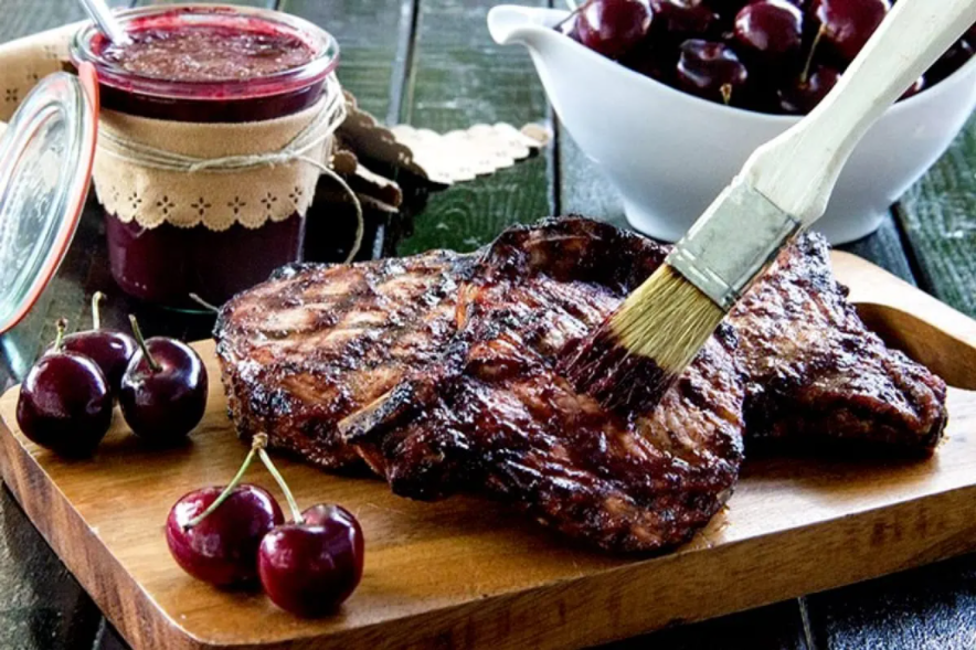 Chef Staber's Famous Leelanau Cherry BBQ Sauce