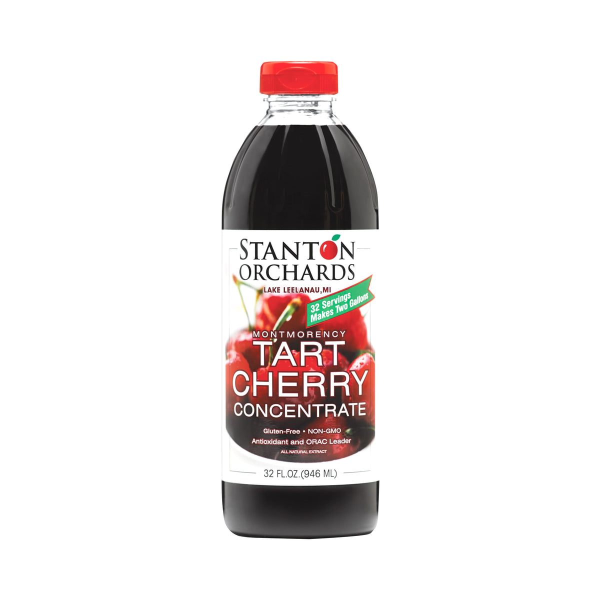 32 oz. Bottle of Tart Cherry Concentrate
