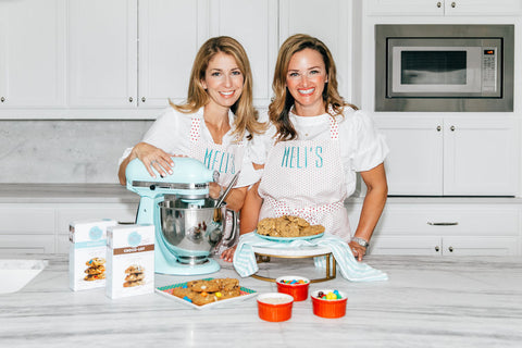 Melissa Blue and Melissa Mehall, Meli's Monster Cookies Co-founders