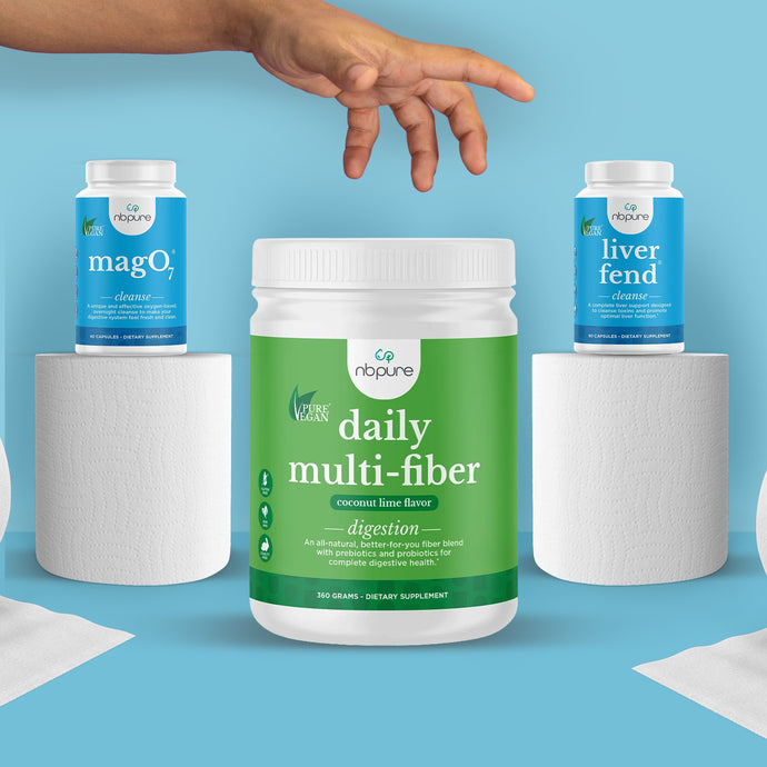 The Ultimate Trio of Products to Get and Maintain a Healthy Gut