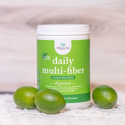 soluable and insoluable fiber blend