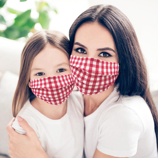 Mommy & Me Checker Face Mask - TOUGH COOKIE CLOTHINGproduct_vendor#COTTON