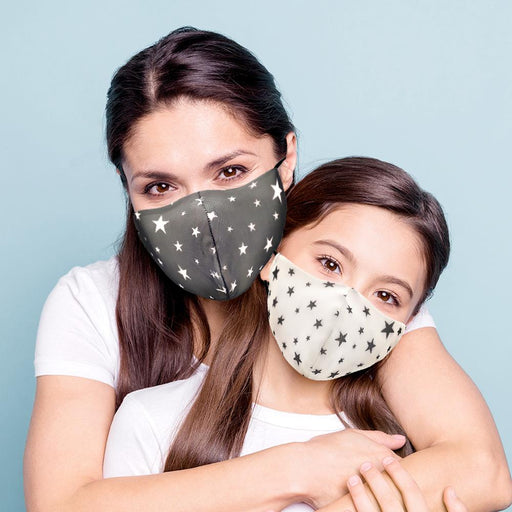 Mommy & Me Multi Star Face Mask - TOUGH COOKIE CLOTHINGproduct_vendor#COTTON