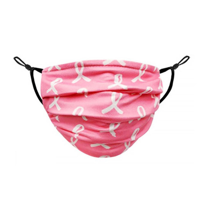 Pink Ribbon Graphic Mask - TOUGH COOKIE CLOTHINGproduct_vendor#COTTON
