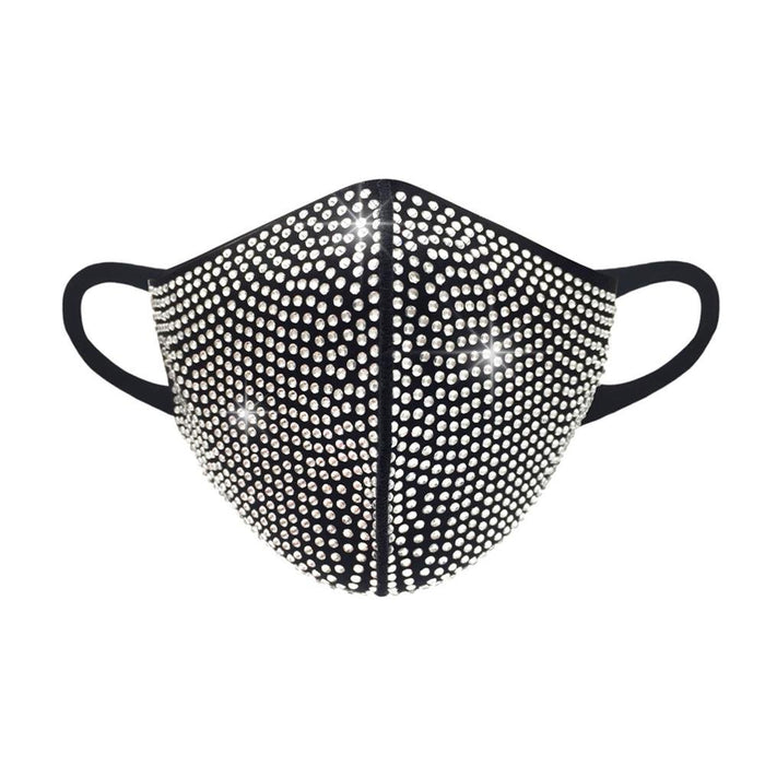 Rhinestone 3D Face Mask - TOUGH COOKIE CLOTHINGproduct_vendor#COTTON