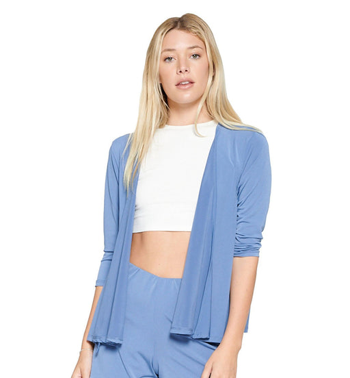 Semi Cropped Casual Cardigan - TOUGH COOKIE CLOTHINGproduct_vendor#ACTIVE WEAR
