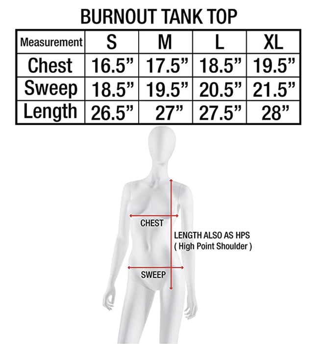 Tough Cookie's Women's Burnout Tank Top Bulk Pack - TOUGH COOKIE CLOTHINGproduct_vendor#ACTIVE WEAR