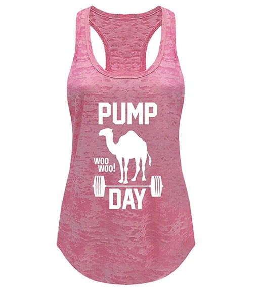 Tough Cookie's Women's Pump Day Gym Yoga Workout Tank Top - TOUGH COOKIE CLOTHINGproduct_vendor#ACTIVE WEAR