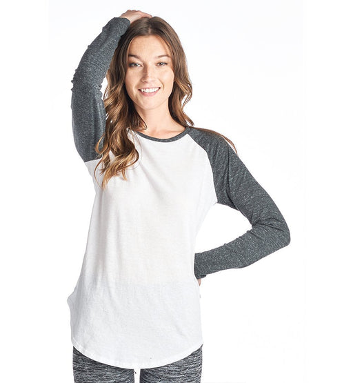 Triblend Raglan Baseball Causal Top - TOUGH COOKIE CLOTHINGproduct_vendor#ACTIVE WEAR