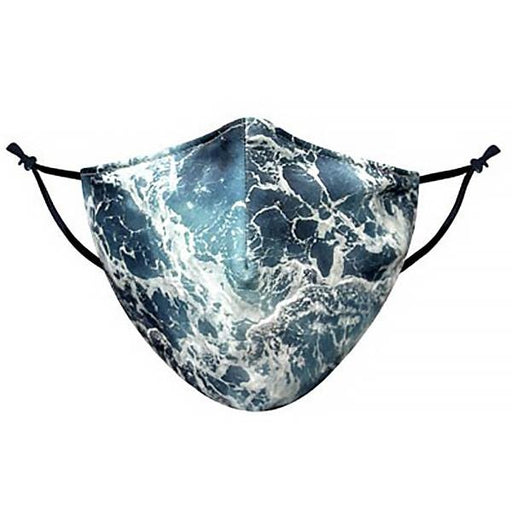 Wave Graphic Pattern Face Mask - TOUGH COOKIE CLOTHINGproduct_vendor#COTTON