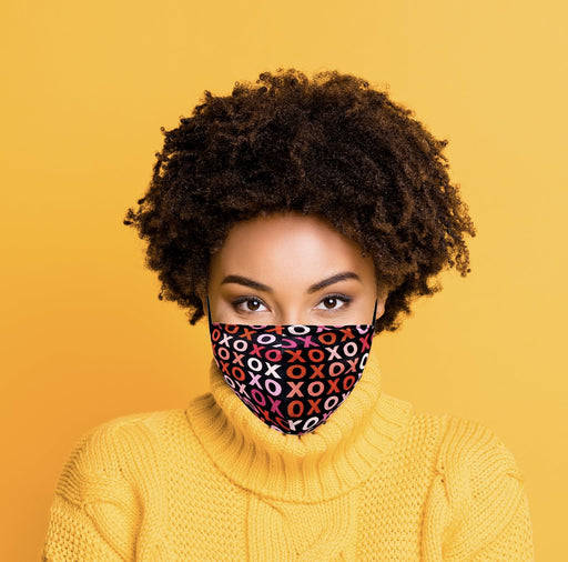 XOXO Valentine's Day Graphic Face Mask - TOUGH COOKIE CLOTHINGproduct_vendor#COTTON
