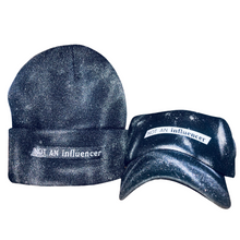 Load image into Gallery viewer, NEW! Silver Spray Paint NOT AN influencer Beanie
