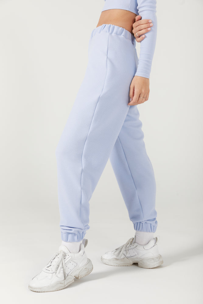 Load image into Gallery viewer, BABY BLUE JOGGERS