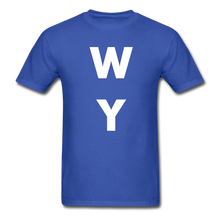 Load image into Gallery viewer, WY - royal blue
