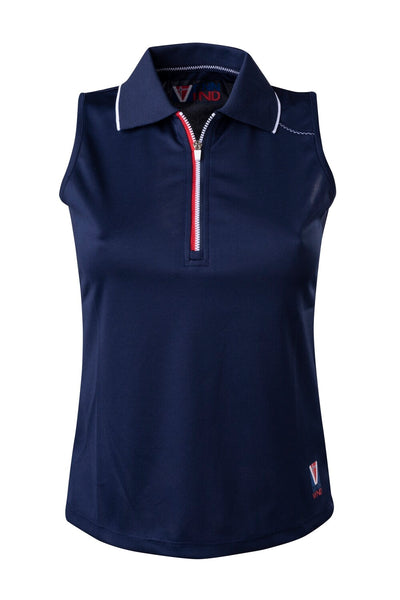 Polo Damen Chic Dress Blue