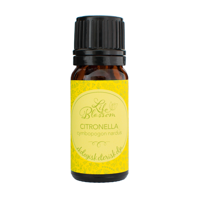 CITRONELLA ETERISK OLJA EKO - 10ml