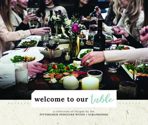 Welcome to Our Table Cookbook by Lady Pens