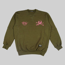 Load image into Gallery viewer, CR. ACESKUL OLIVE CREWNECK
