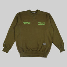 Load image into Gallery viewer, CR. OLIVEWOODS OLIVE CREWNECK
