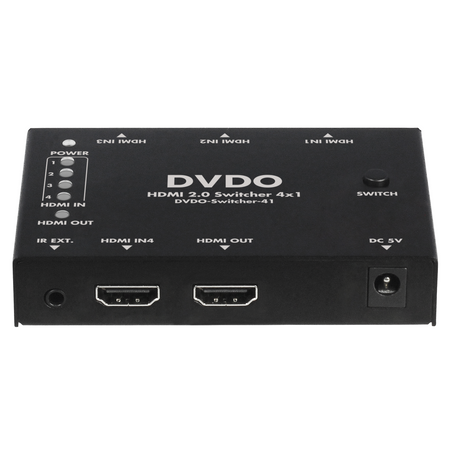 4K HDMI 4-1 Switcher with HDR