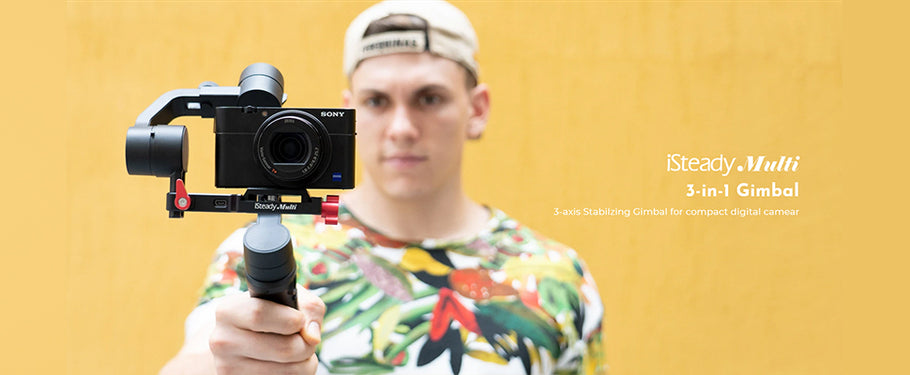 Let's get iSteady: Review of the Hohem iSteady Multi All-in-1 3-Axis Gimbal Stabilizer
