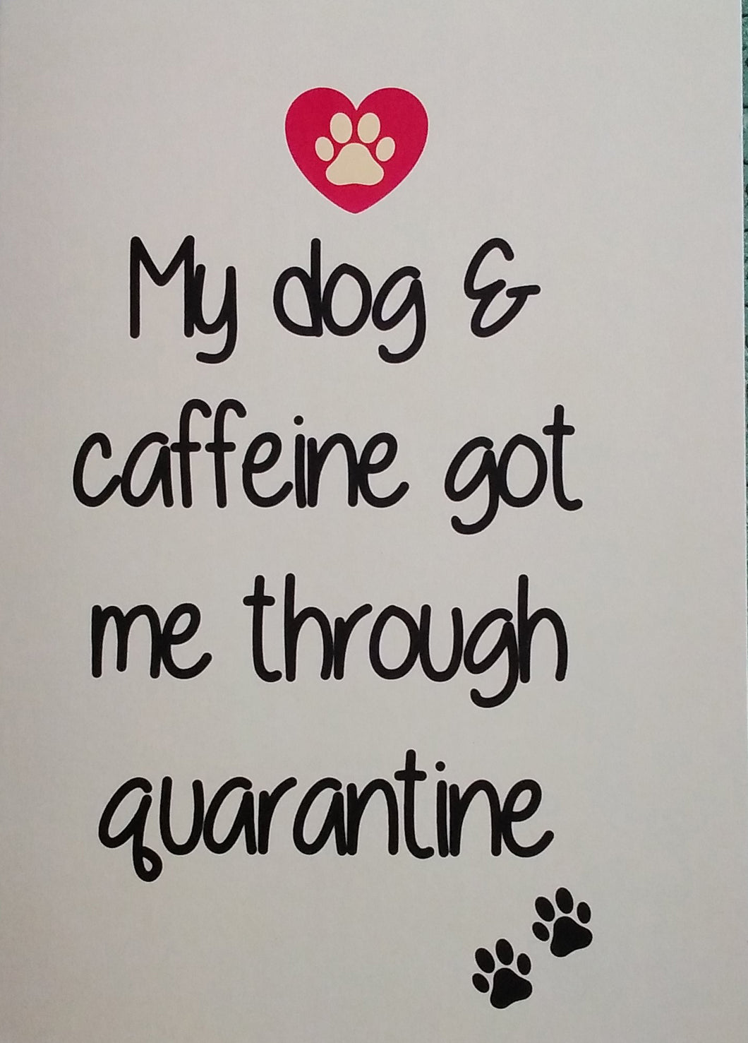 Dog and Caffeine