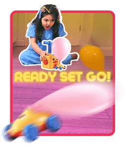 Balloon SpeedRacers - Experience Physics with STEM