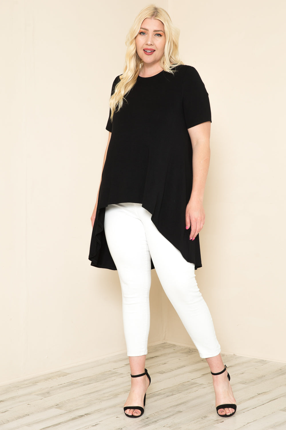 High-Low Tunic Plus Size