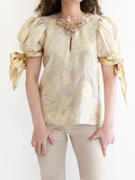 Load image into Gallery viewer, Blusa Organza Laminada