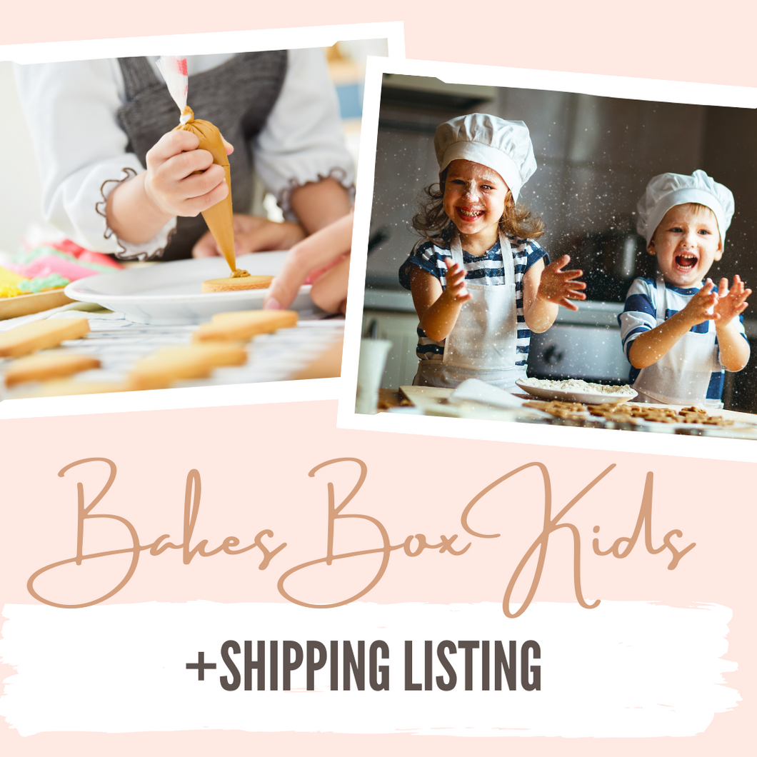 Bakes Box Kids Subscription Box (+SHIPPING LIST)