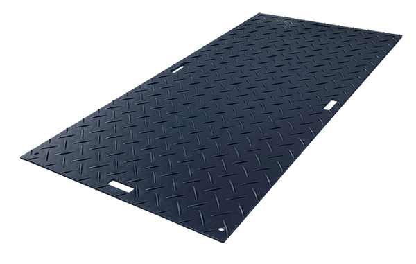 Black Ground Protection Mats 3'x8'