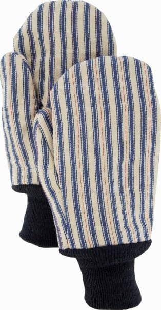 MAJESTIC - Cotton/Poly Mitten with Insulated Striped Canvas
