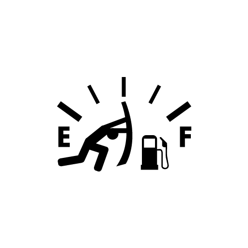 Gasoline Indicator Sticker-0