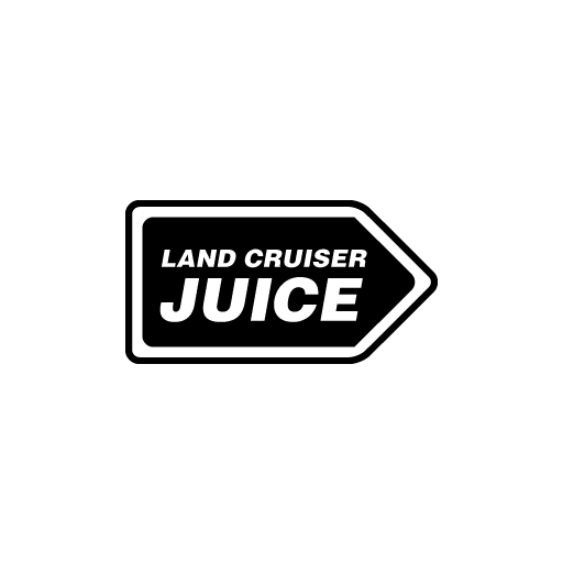 Land Cruiser Juice Sticker-0